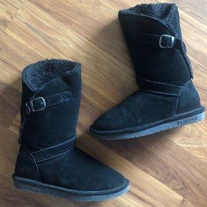 BearPaw Buckle Boots
